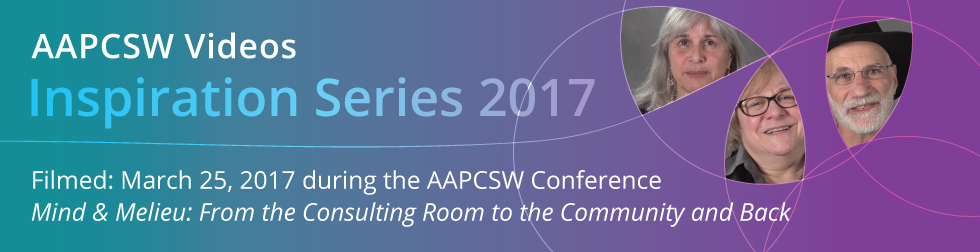 Image: AAPCSW Inspiration Video Series 2017